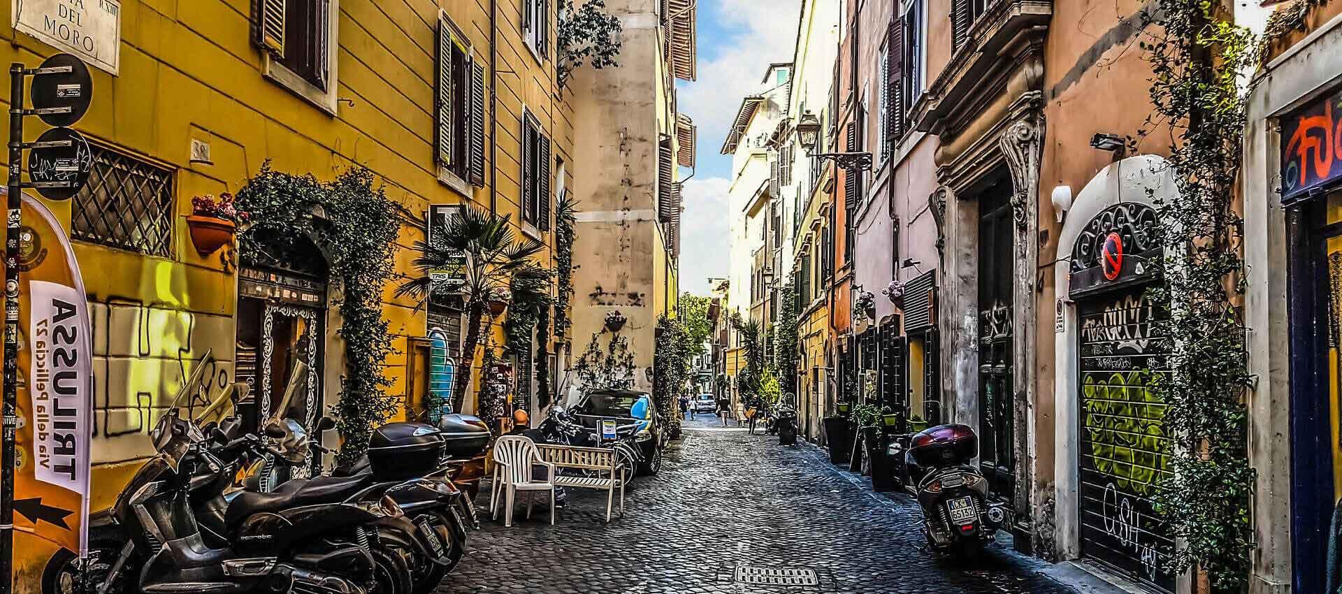 Trastevere-street
